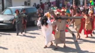 Viacrucis en Cihuatlán Jalisco.