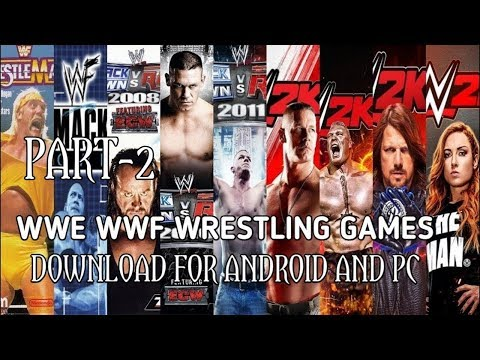 Download All WWE And WWF Games For Android Device📣🕹️🎮 Highly Compressed Size