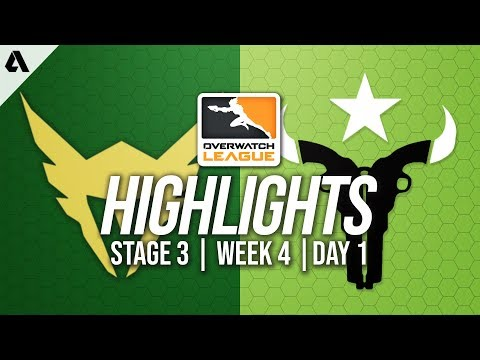 Los Angeles Valiant vs Houston Outlaws   Overwatch League Highlights OWL Stage 3 Week 4 Day 1