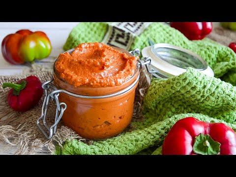 Самый вкусный СОУС ИЗ ПЕРЦА (и помидор)🍴Испанский соус РОМЕСКО