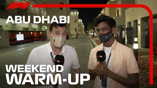 2020 Abu Dhabi Grand Prix: Weekend Warm-Up