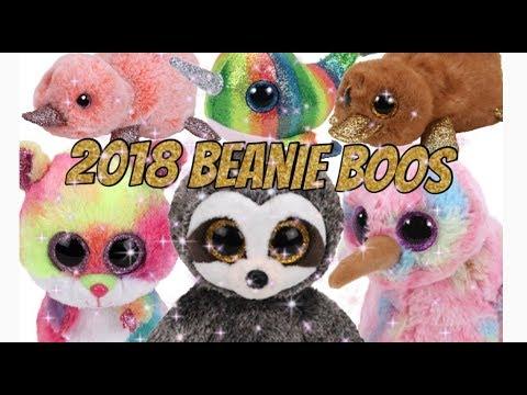 NEW 2018 BEANIE BOOS! - YouTube ab153f16088