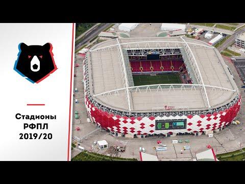 Стадионы РФПЛ в сезоне 2019/20