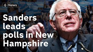 Bernie Sanders tipped to win New Hampshire primary