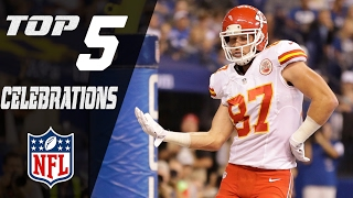 Top 5 Celebrations of the 2016 Season | NFL NOW