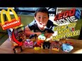 SECRET Way To Get Every LEGO MOVIE 2 TOY At MCDONALDS In 1 HAPPY MEAL Box!! IT WORKED!!