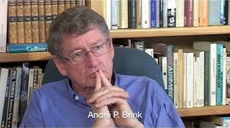 Andre Brink on Writing #1