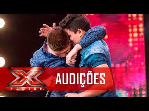 Uma dupla sertaneja e 4 sins  X Factor BR