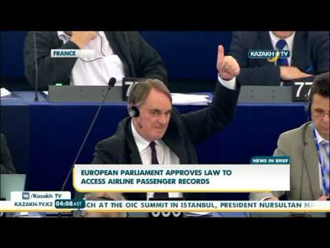 European parliament approves law to access airline passenger records - Kazakh TV