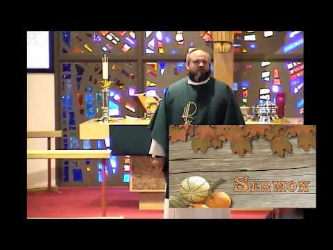 10-22-17 - Peace Lutheran Church - Sermon - Rev. Hardy