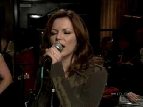Martina McBride - AOL Sessions - Wild Angels