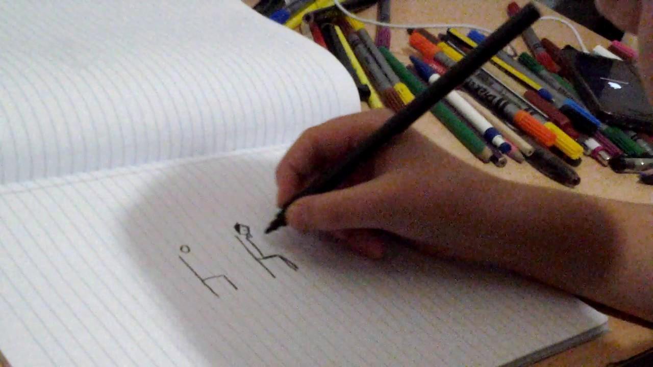 2d Yandan Oturan Adam çizimi Youtube