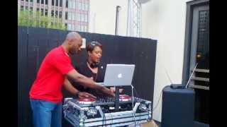 Councilwoman Cindy Bass DJs for Charity