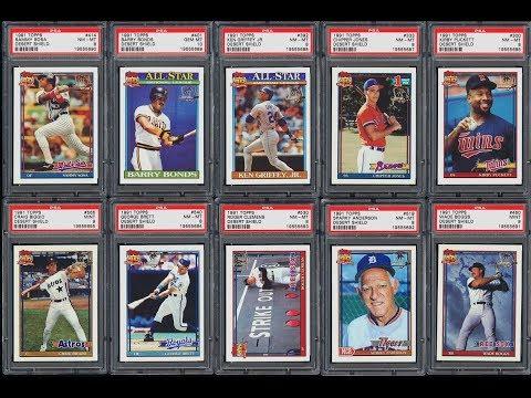 1991 Topps Desert Shield Baseball Set Sells For 75872