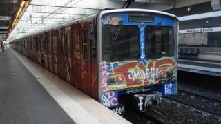 ローマ地下鉄B線バジリカ・サン・パオロ駅 Rome Metro Line B Basilica San Paolo Station