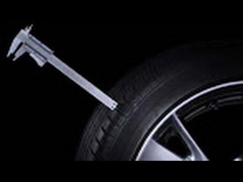 Замер износа шины.Уровень износа протектора.Самый точный и верный способ замерять остаток протектора