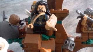 lego the Hobbit: warg attack stopmotion