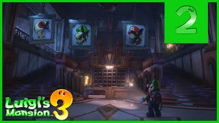 Professor E. Gadd Luigi's Mansion 3 2