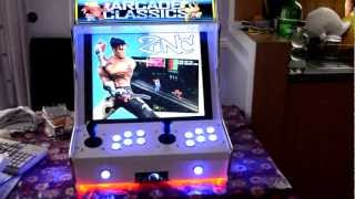 ULTRA ARCADE FULL setup with 114 working systems MAME,Sega Naomi,M2,M3, Taito TypeX2,Atomiswave