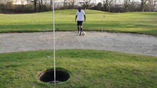 FootGolf - Trick shot - Rabona Kick - Cedric Martins [FGC91]