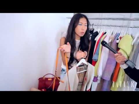 Дизайнер и стилист Оксана Он показывает свой гардероб