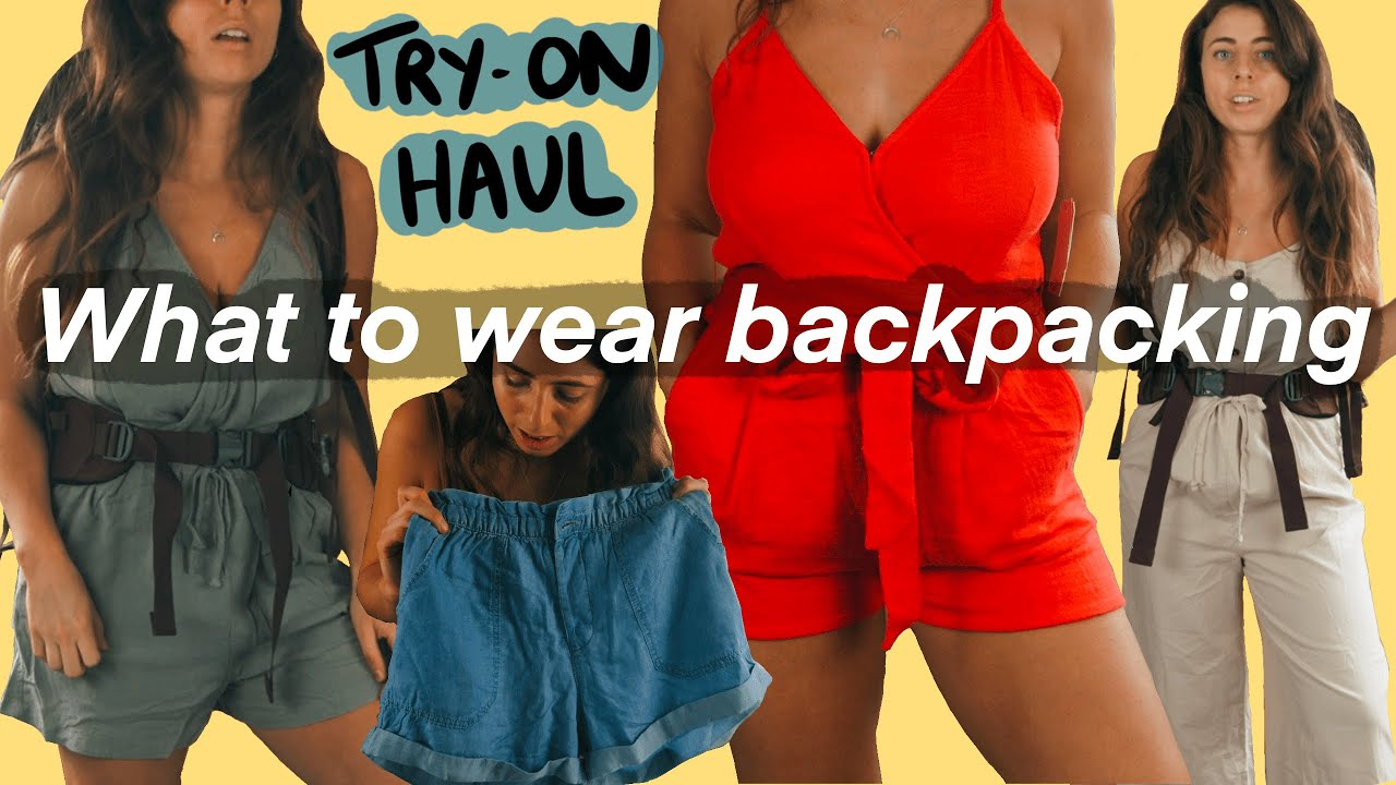 How I Choose Clothes to Take Backpacking // ASOS Try-on Haul