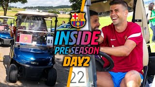 PLAYERS DRIVE THEMSELVES TO TRAINING SESSION!   IN