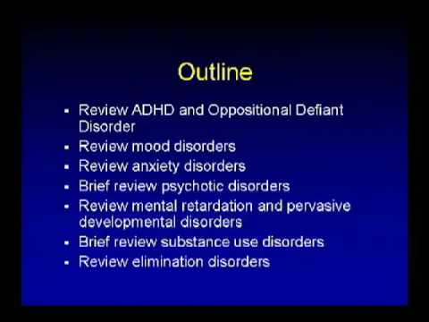 Child Psychiatry PDD MR ADHD - John G. Koutras, MD