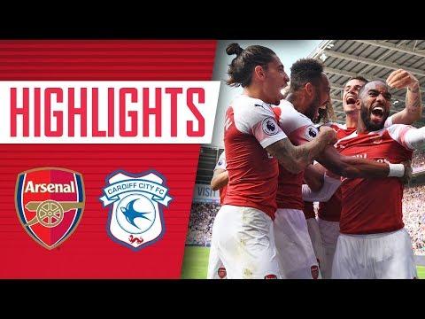 Highlights: Cardiff City 2 - 3 Arsenal