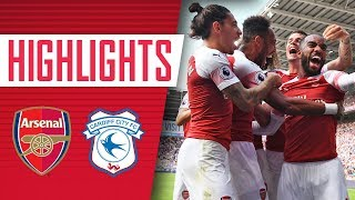 Download Video Highlights: Cardiff City 2 - 3 Arsenal MP3 3GP MP4