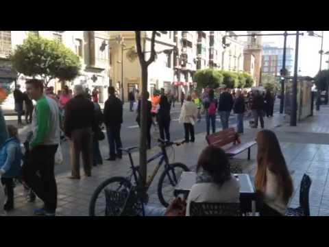 Valencia marathon 2014 drumming