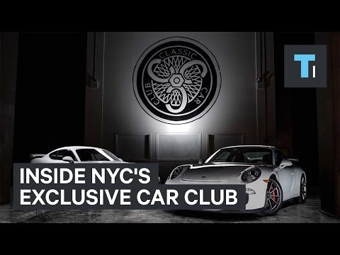 Inside NYC's exclusive car club