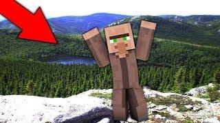 Я УШЁЛ ИЗ ДЕРЕВНИ ВЫЖИВАНИЕ В ДЕРЕВЕНСКОМ ЛЕСУ В МАЙНКРАФТ 100 ТРОЛЛИНГ ЛОВУШКА Minecraft ПОХОД