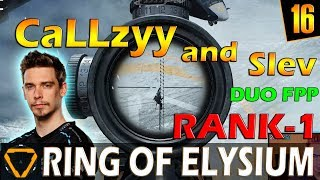 CaLLzyy and Slev | Rank-1 | ROE (Ring of Elysium) | G16