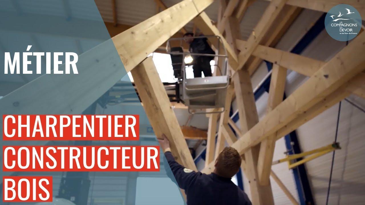 charpentier constructeur bois les compagnons du devoir. Black Bedroom Furniture Sets. Home Design Ideas