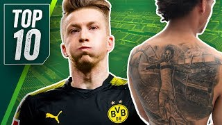Tat-NOO! Die 10 schlimmsten Tattoo Fails der Fußballstars - Onefootball Top 10
