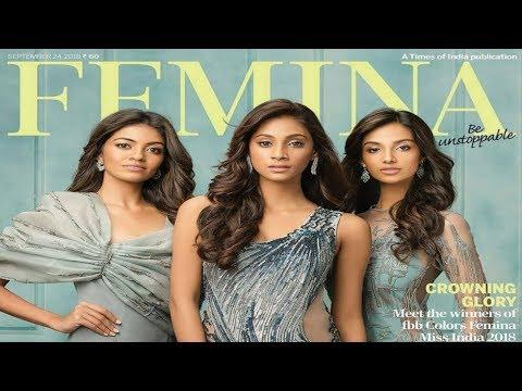 Miss India 2018: Femina Cover BTS