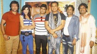 Bhojpuri Film Dil Ho Gail Qurban Promotion at Muzaffarpur By Damodar Raao (Music Director)