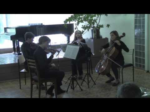 Бетховен  Квартет  2 3 4 части