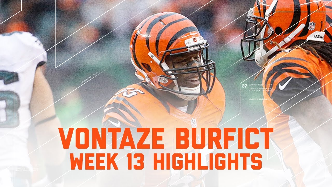 Vontaze Burfict | Eagles vs. Bengals | NFL Week 13 Player Highlights