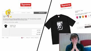 Supreme FW18 Week 5 Live Cop - Fall Tees Week (Manual Checkout)