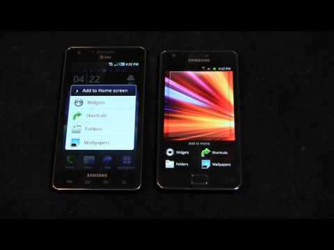 Samsung Galaxy S II vs. Samsung Infuse 4G Dogfight Part 1