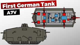 The First German Tank A7V