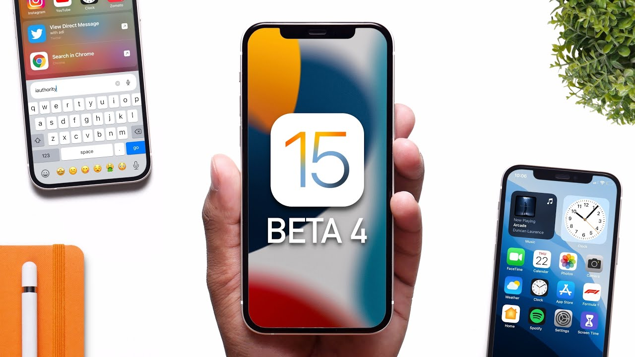 iOS 15 Beta 4 - Release Date & Features!