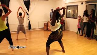 African dance with live drums by Jungle fever® dance