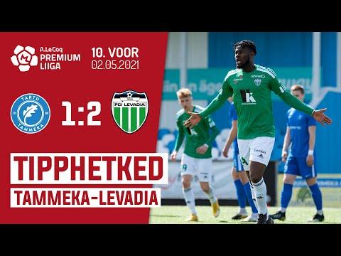 Tammeka Tartu Levadia Tallinn Goals And Highlights