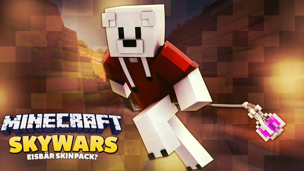 EISBÄR SKINPACK Minecraft Skywars Mit RickyCrafter YouTube - Kleine skins fur minecraft