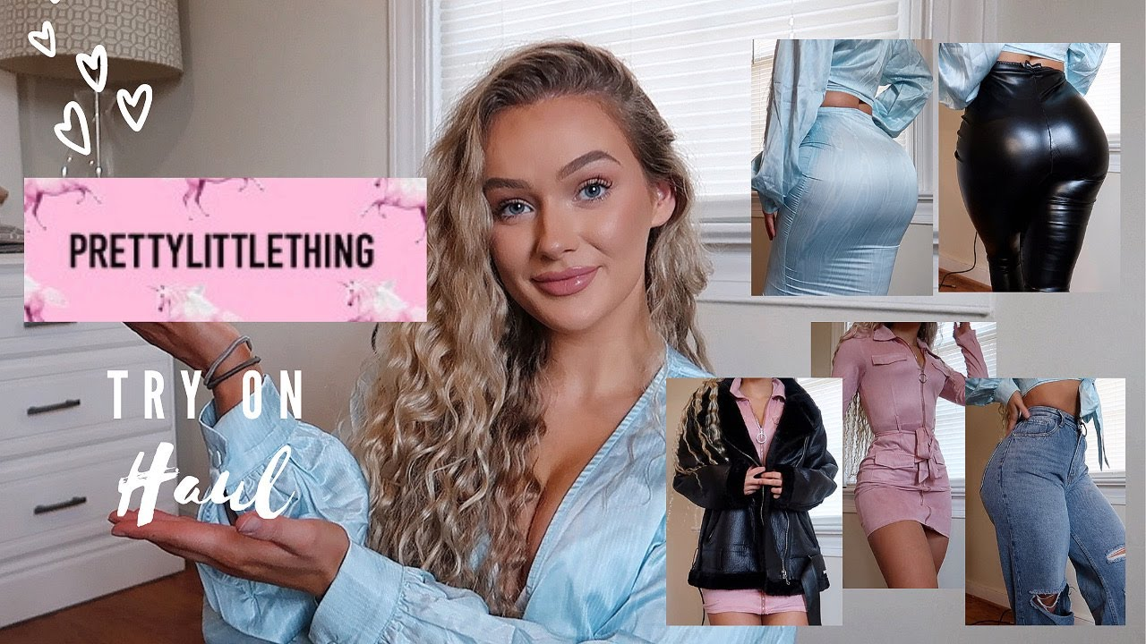 HUGE PRETTYLITTLETHING TRY ON CLOTHING HAUL   NOT SPONSORED AFFORDABLE FALL & WINTER OUTFITS