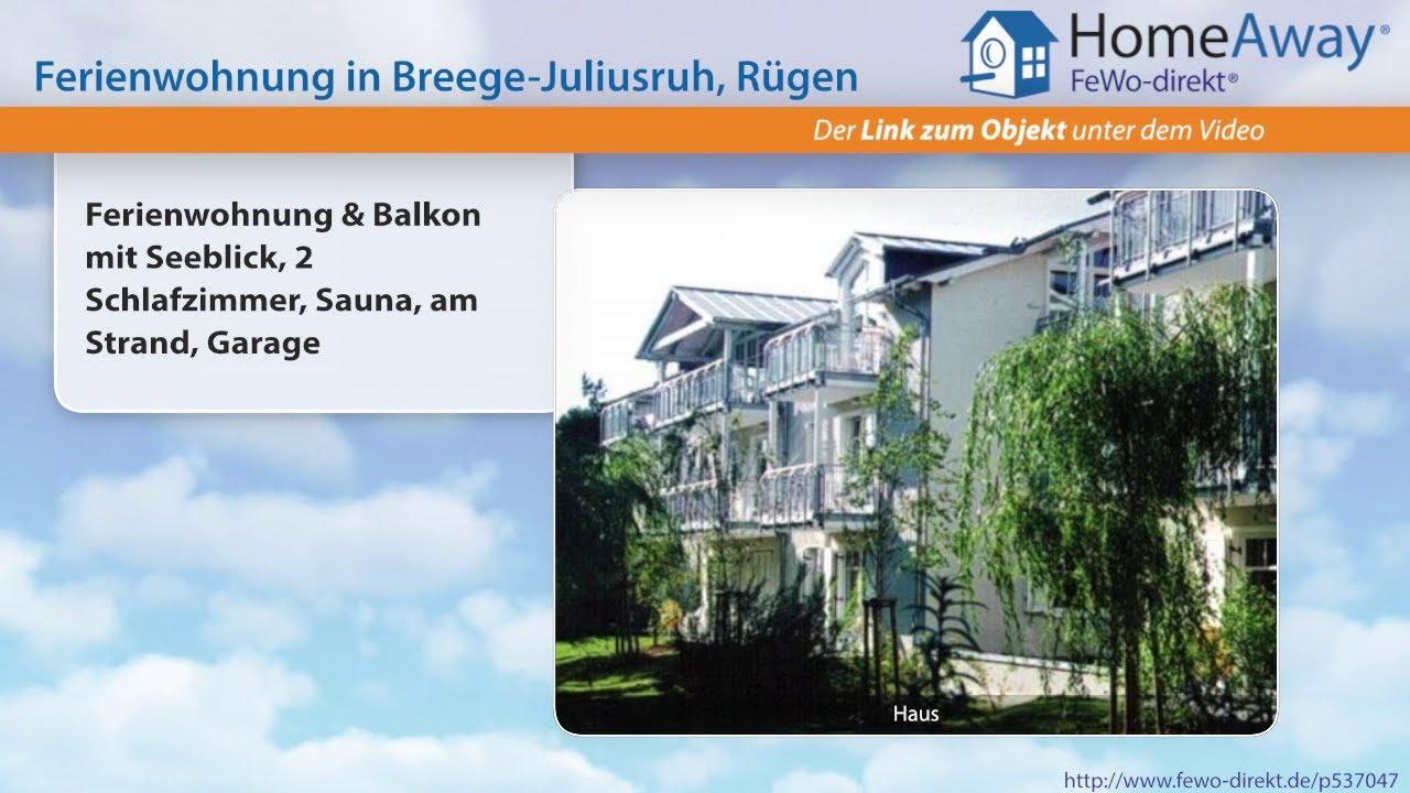 Binz: Ferienwohnung & Balkon mit Seeblick, 2 Schlafzimmer, Sauna, am ...