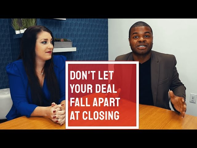 Don't Let Your Deal Fall Apart At Closing | Nicole Espinosa Ep 22